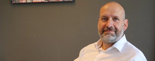Danny Buma, hoofd learning & development bij Van Wijnen