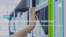 Hoe maak ik een online training?