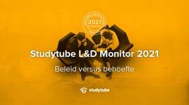 Studytube L&D Monitor 2021: Beleid versus behoefte