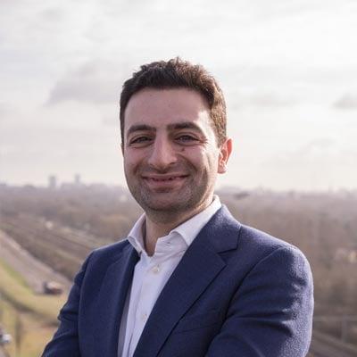 Homam Karimi Headshot