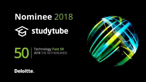 Studytube-genomineerd-Deloitte-Technology-Fast-50-2018