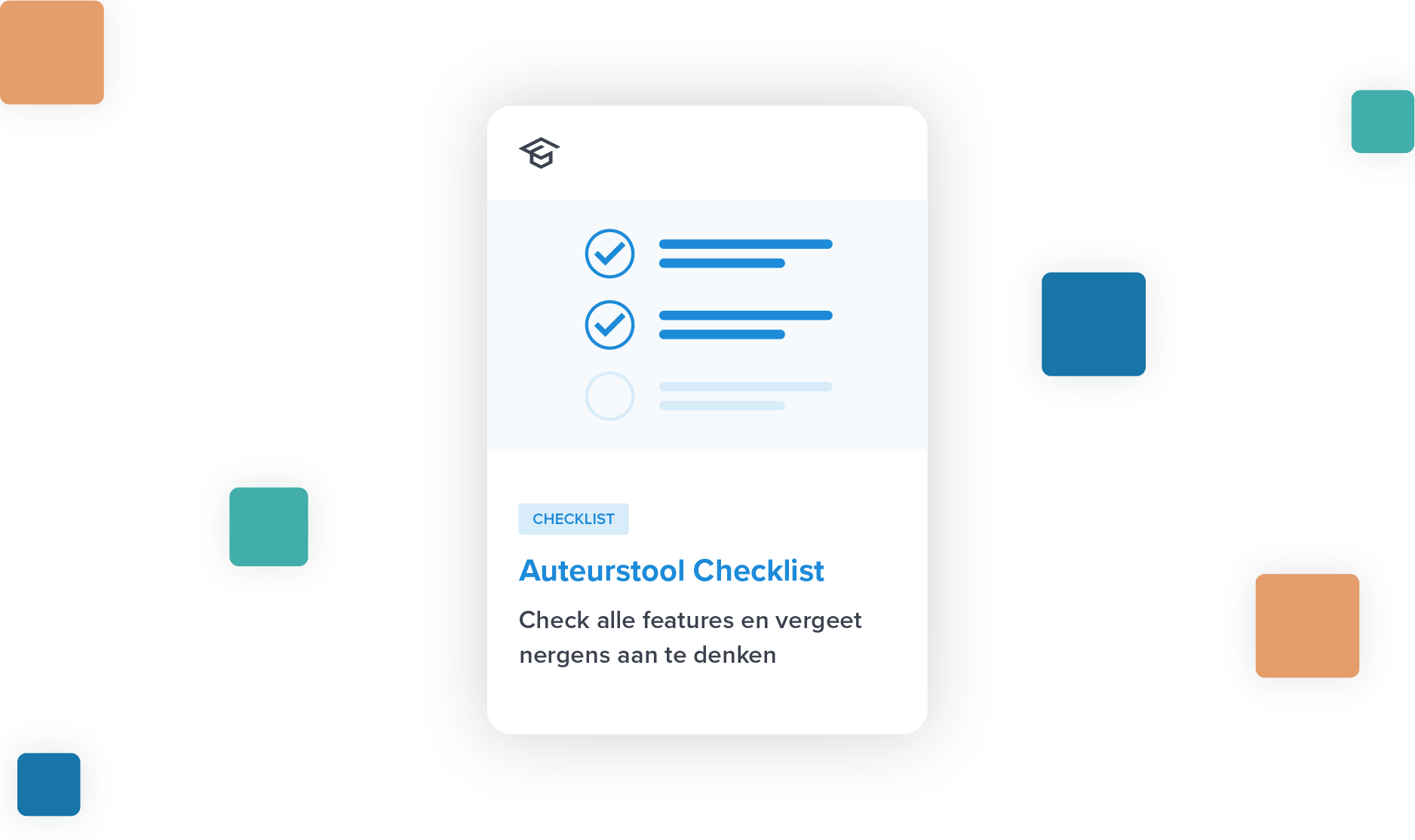 checklist auteurstool