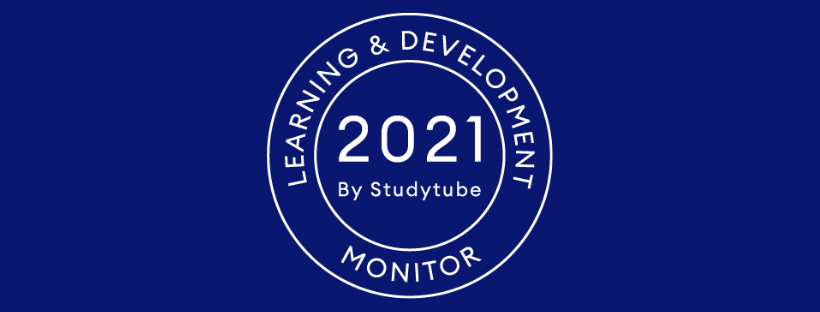 Logo Studytube Learning & Development Monitor 2021