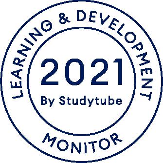 Logo Studytube L&D Monitor 2021 - Zwart