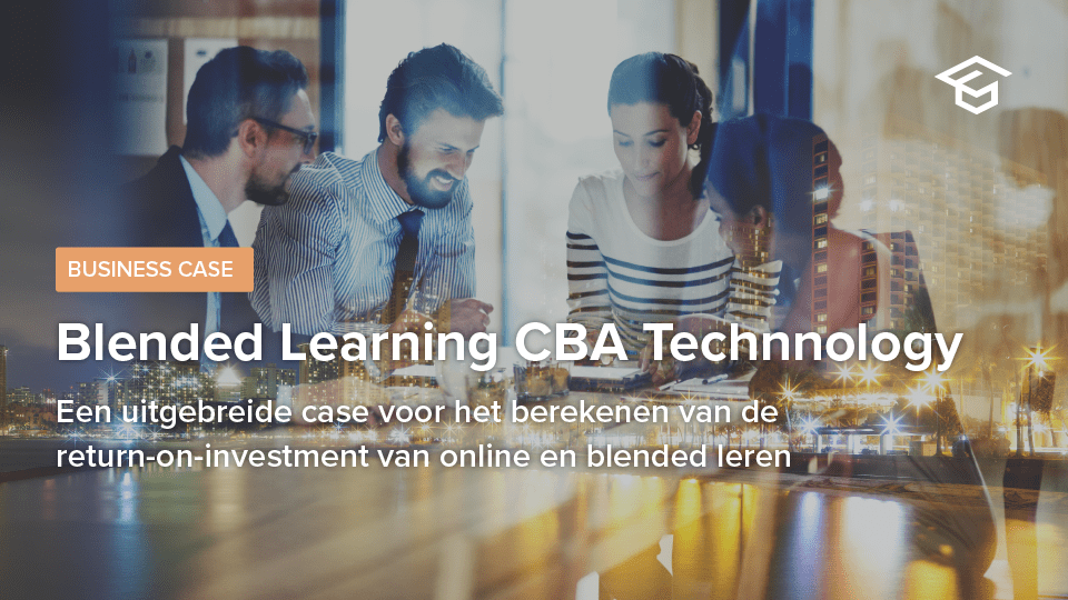 Businesscase Blended Learning CBA Technology