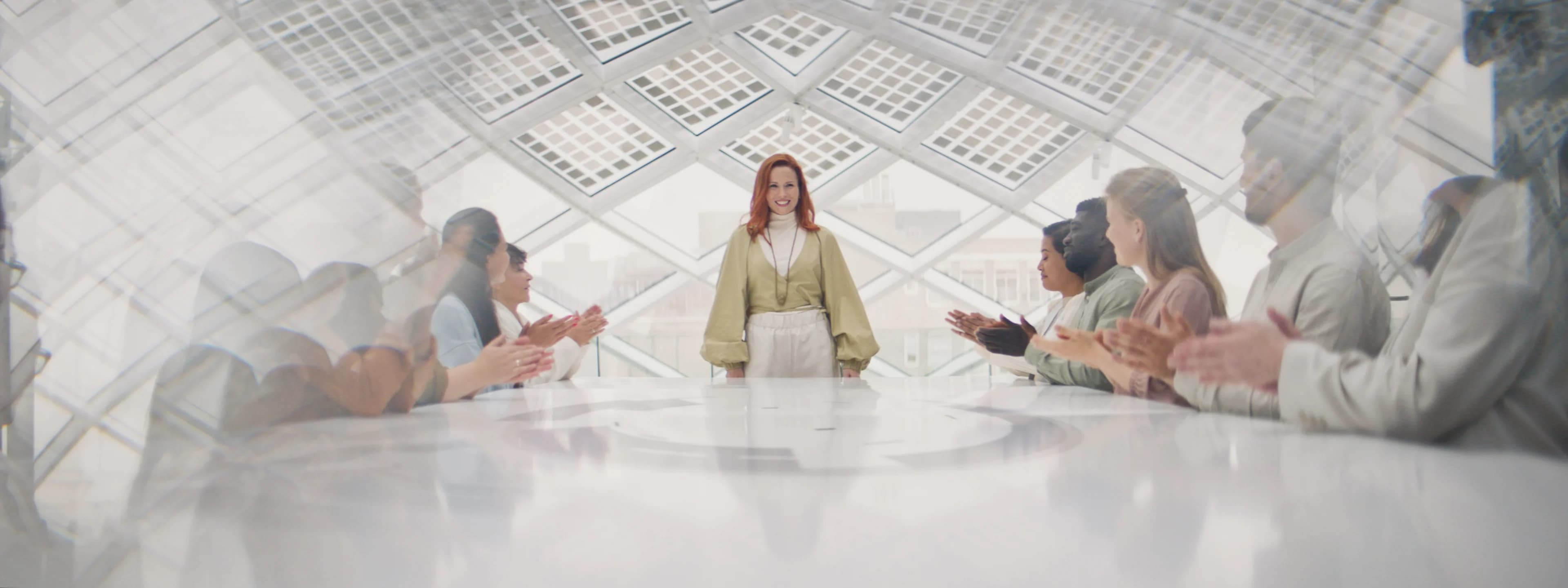 Boardroom vergadering designed with your future in mind, studytube